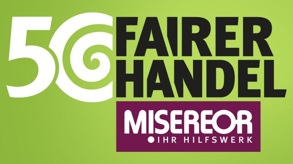 Logo 50 Jahre Fairer Handel