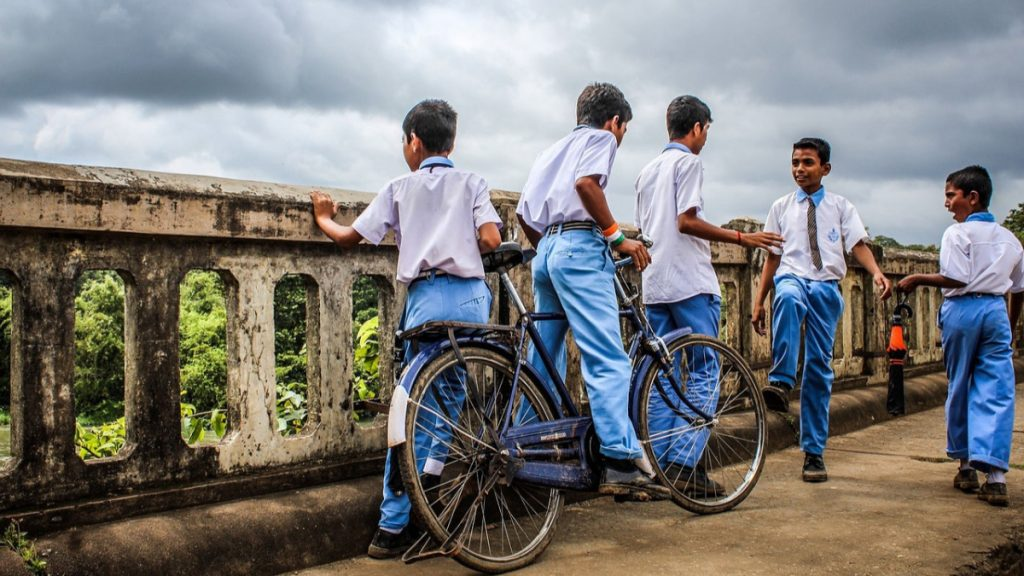Indien Mobilität Fahrrad