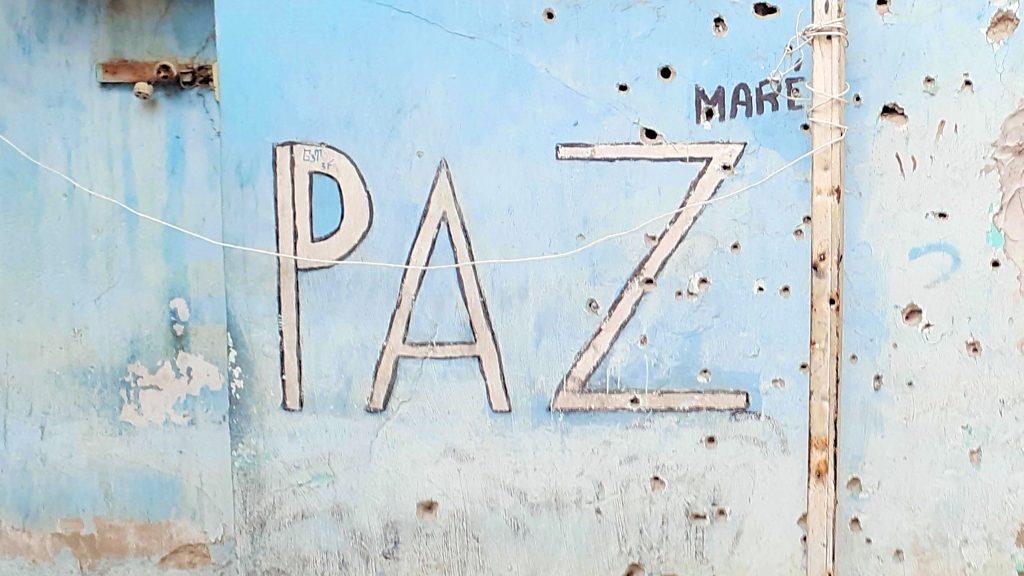 Einschusslöcher Nova Holanda, Maré, Rio de Janeiro
