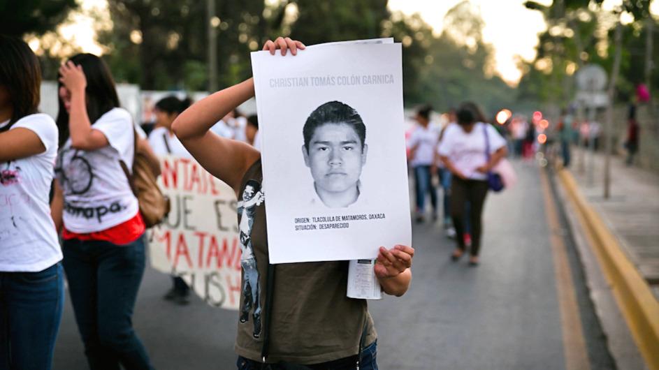 Proteste Mexiko Verschwindenlassen