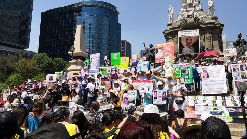 Mexiko Protest Mütter der Verschwundenen