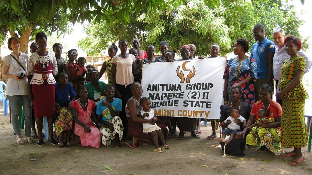 Dorfgemeinschaftsinitiative in Yambio Südsudan