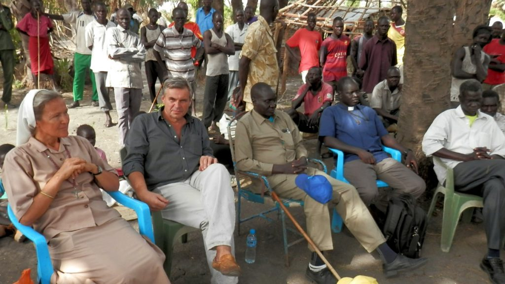 Friedenstreffen Fluchtrückkehrer Upper Nile Südsudan