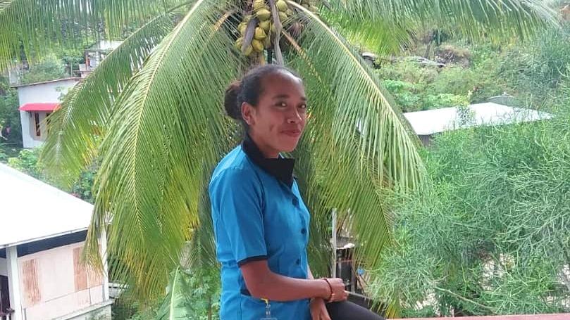 IsabelaBelita Ximenes da Cruz von CTID in Timor-Leste