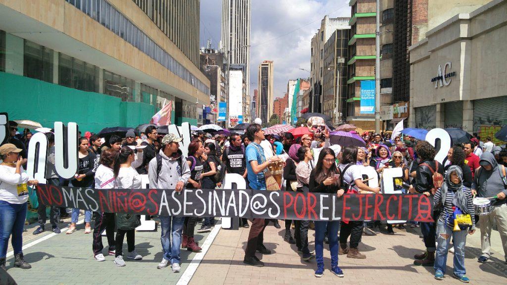 Menschenrechtsproteste in Kolumbien2