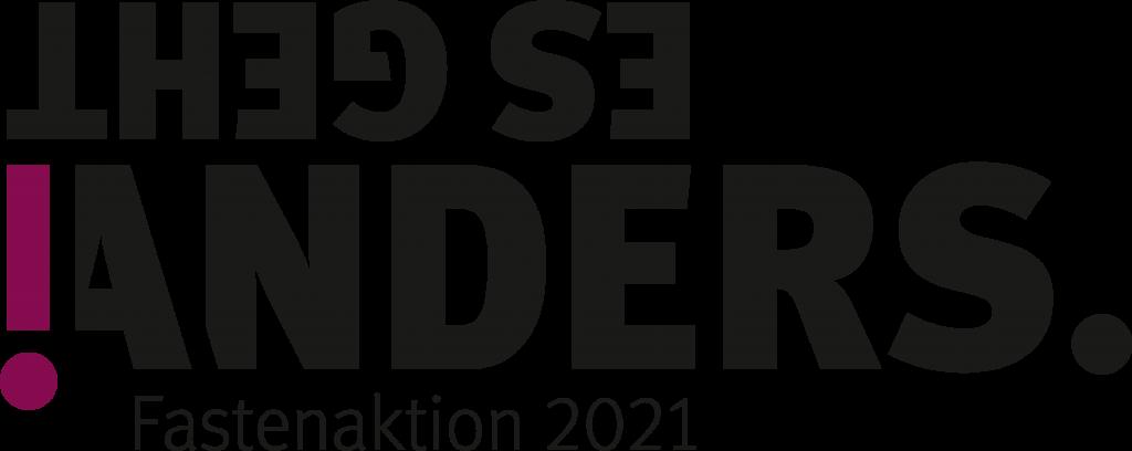Logo der Fastenaktion 2021
