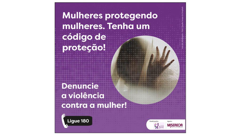 Kampagnenbild 1 telefonischer Notruf gegen Gewalt gegen Frauen