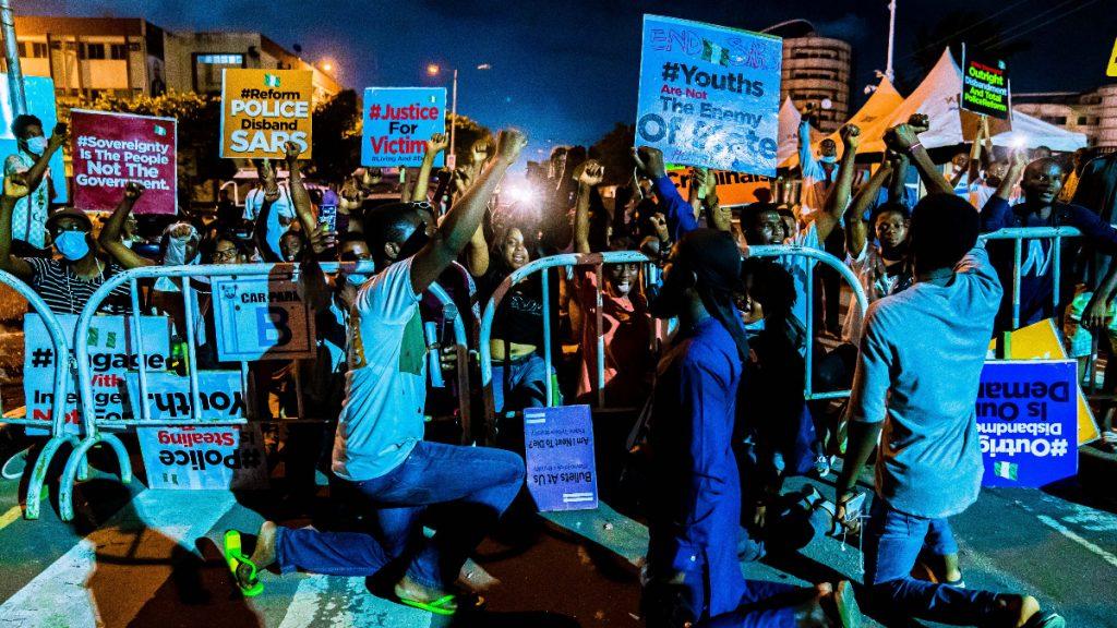 Proteste Nigeria Auflösung Polizei-Sondereinheit