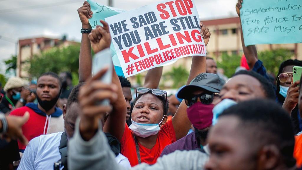 Proteste Polizeigewalt Nigeria