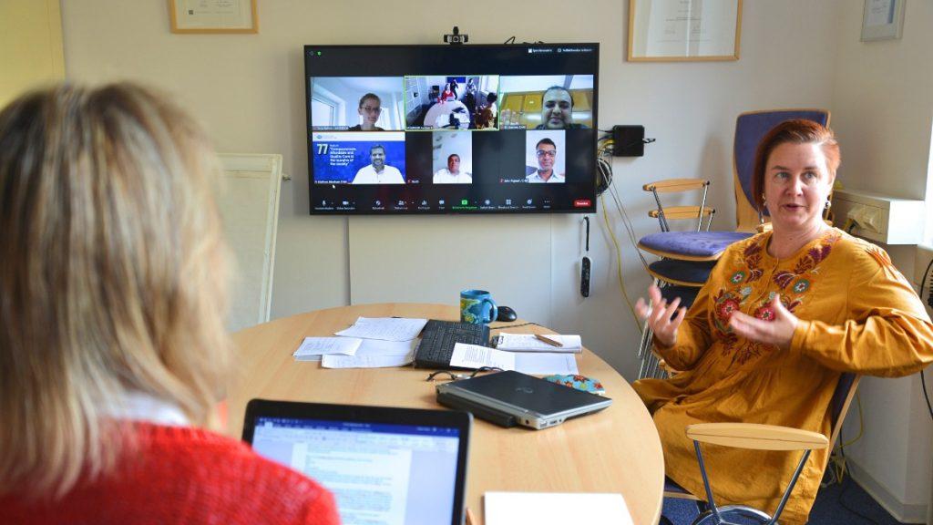 virtuelle Dienstreise nach Indien