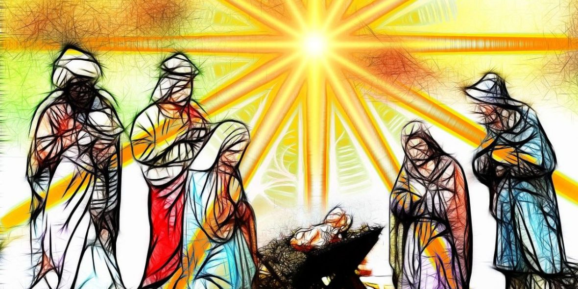 Jesus in der Krippe