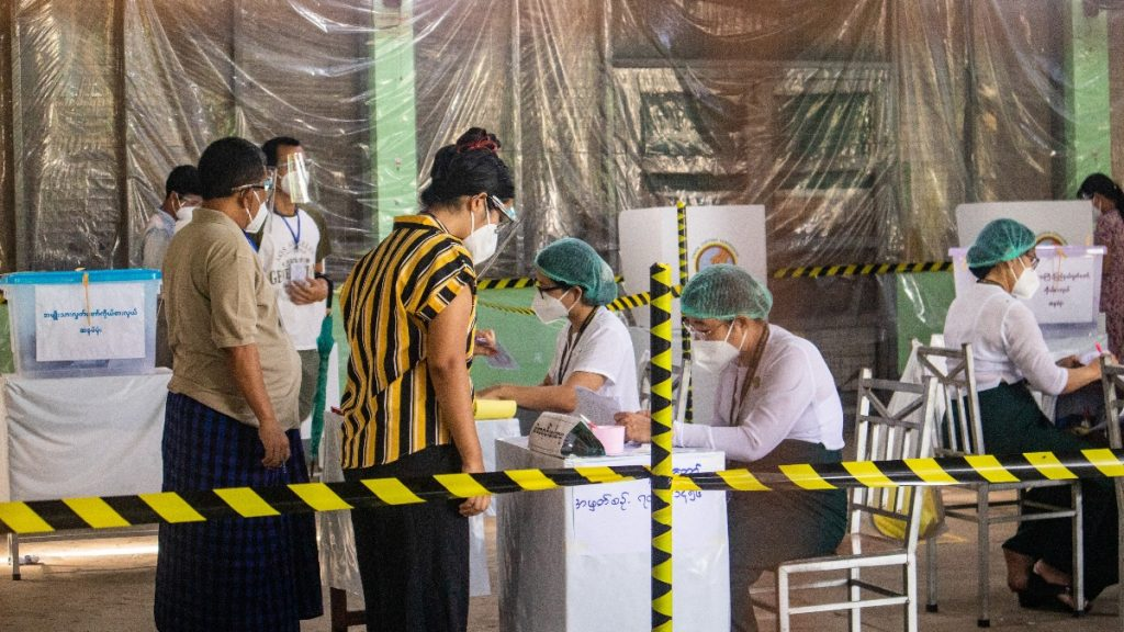 Wahlen Myanmar 2020 unter Corona-Bedingungen