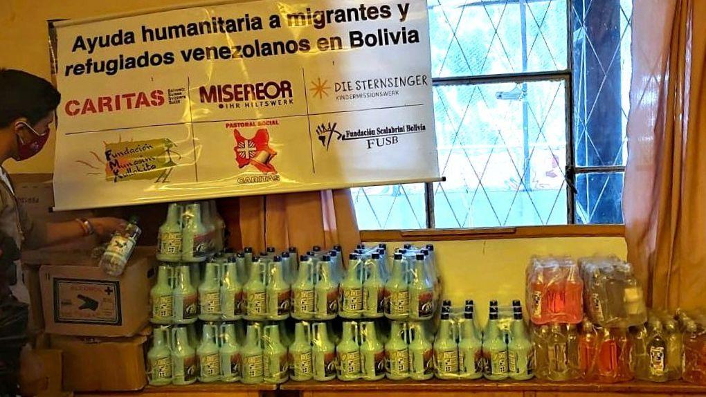 Hilfsgüter Casa del Migrante
