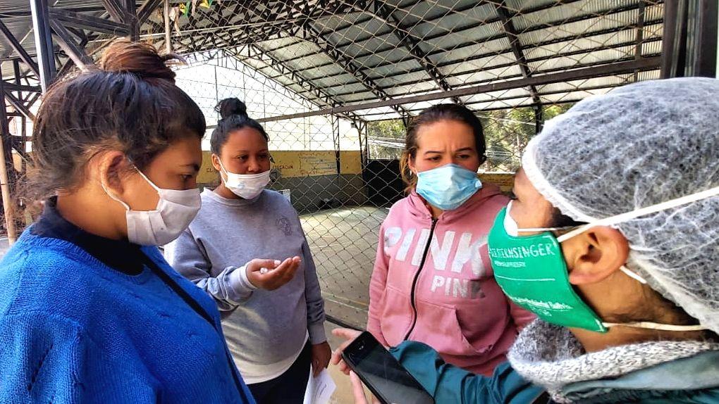 Bolivien Corona Pandemie