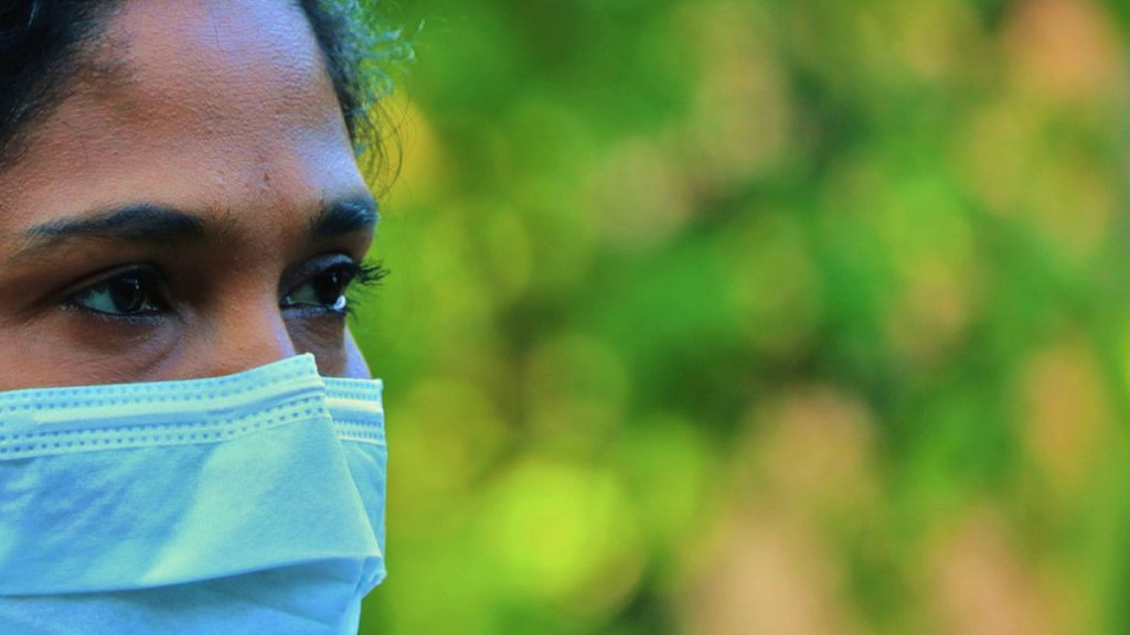 Mund-Nasen-Schutz Corona im globalen Süden