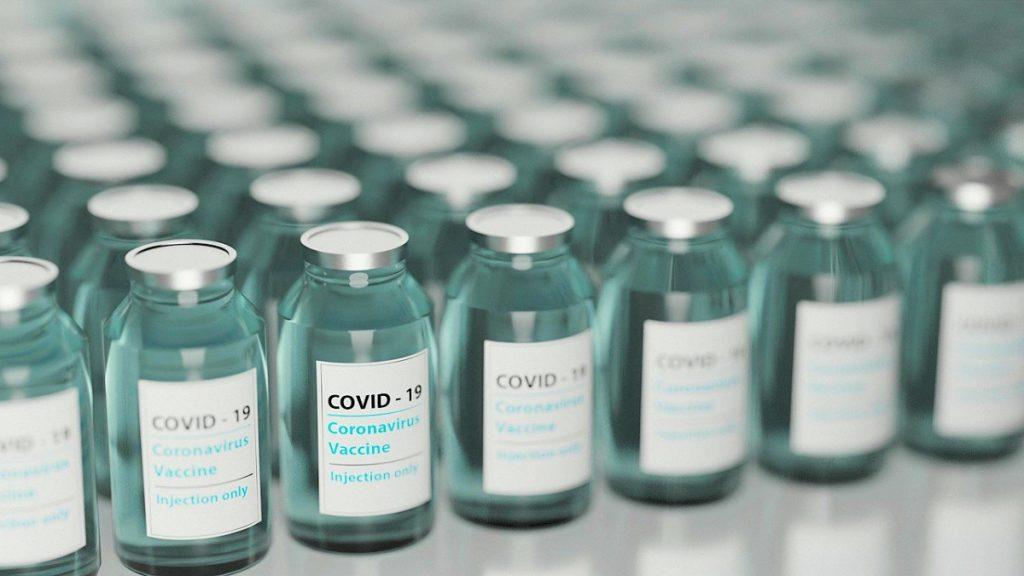 Impfstoffampullen COVID-19