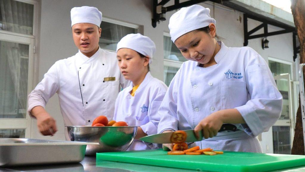 Ausbildung Kochschule Mai Sen Vietnam