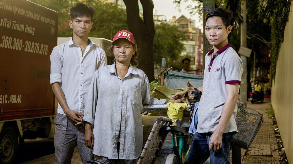 Mai Sen Kochschule Vietnam Familie