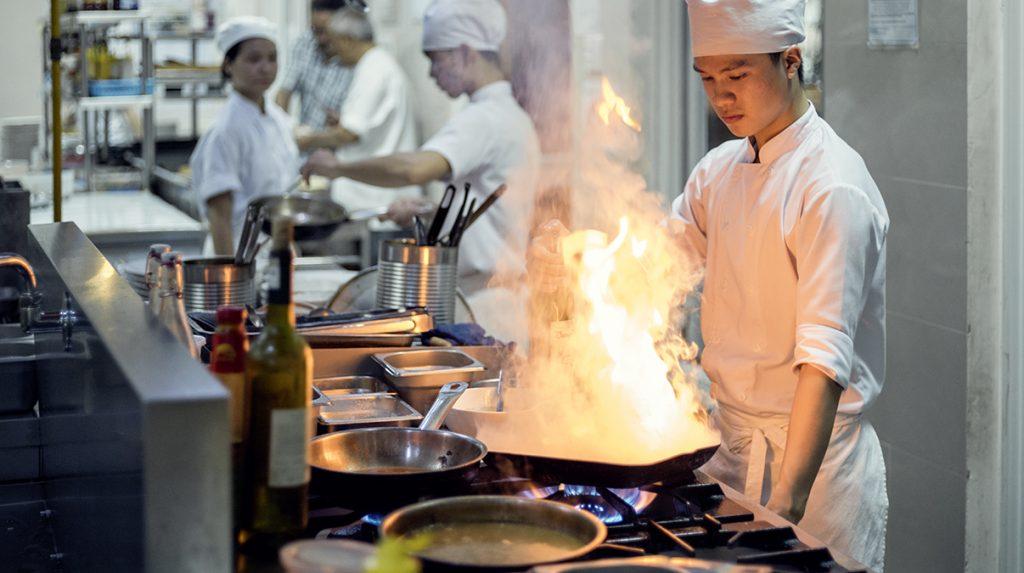 Kochschule Mai Sen Vietnam