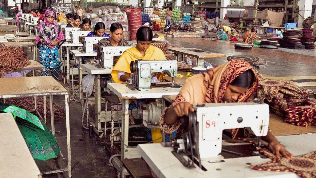 Näherinnen Bangladesch