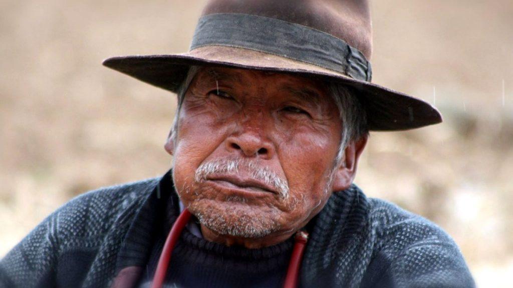 Bolivien Indigene Ältere