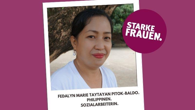 Fedalyn-Marie-Taytayan-Pitok-Baldo-sozialarbeiterin-philippinen