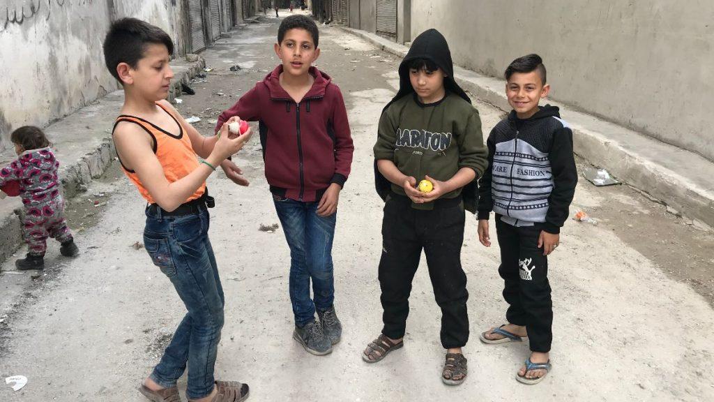 Syrien Krieg Kinder