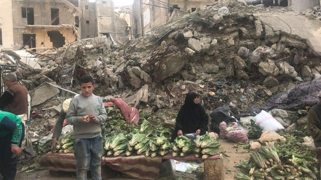 Syrien Krieg Überleben