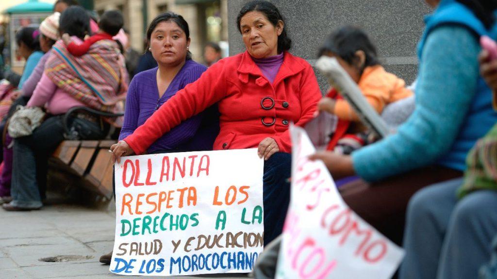 Frauenrechte Proteste Peru
