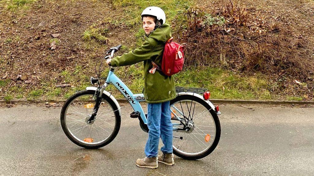 Jonte Solibrote Auslieferung Fahrrad
