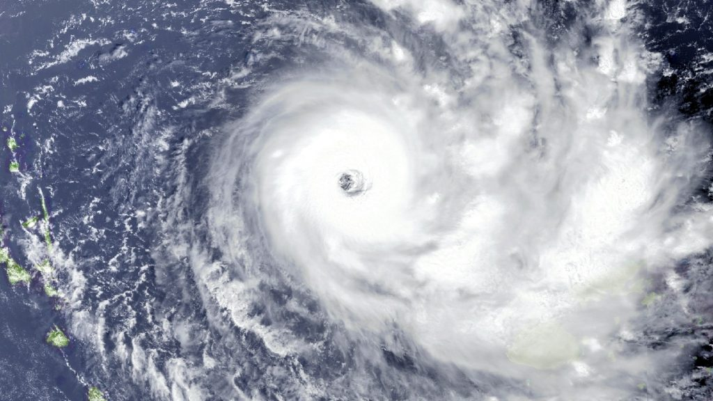 Yasa Zyklon Satellitenbild NASA