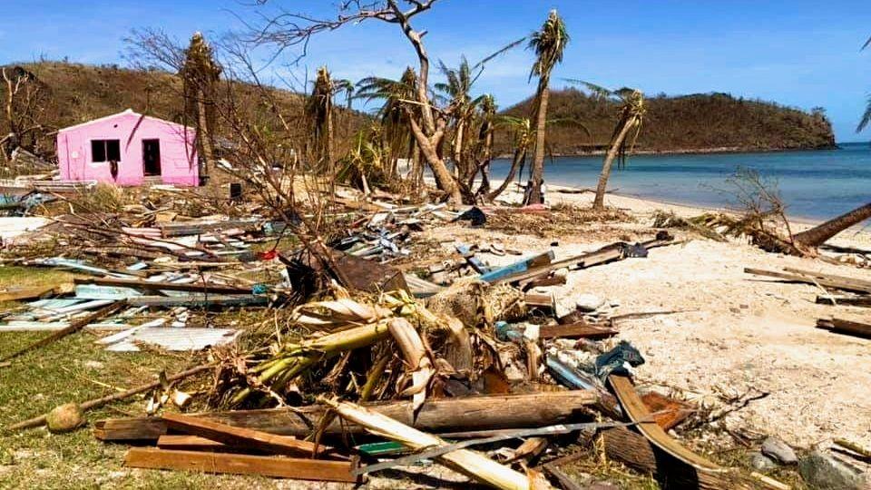 Kia Island Provinz Macuata Fidschi Zyklon