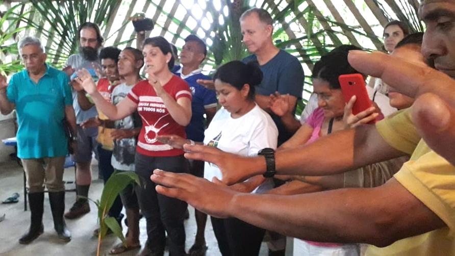 Aula Viva Workshop in indigener Gemeinde Amazonas