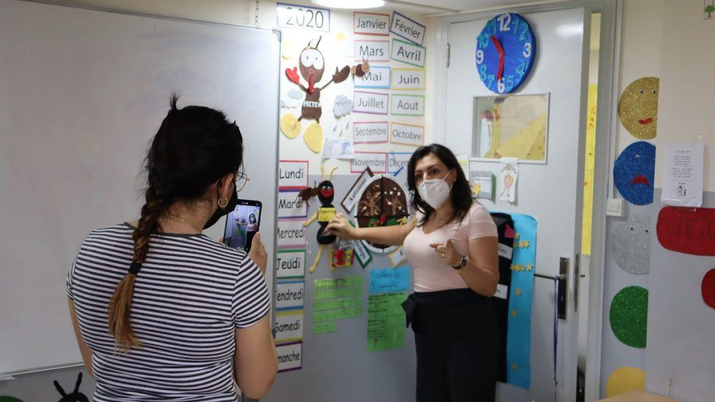 Libanon Jesuit Refugee Service Schule Corona