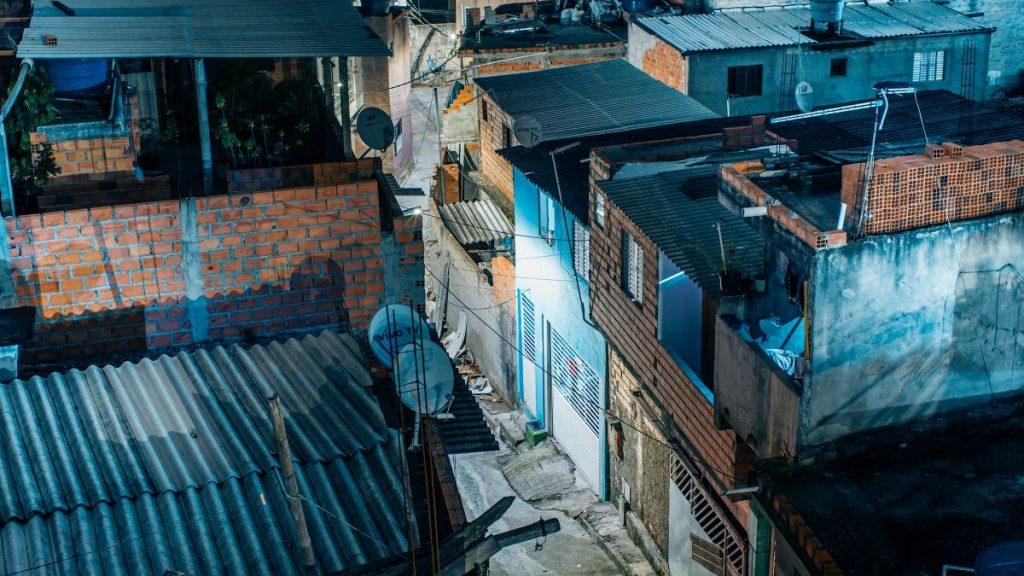 Favela Brasilien Schrei der Armen