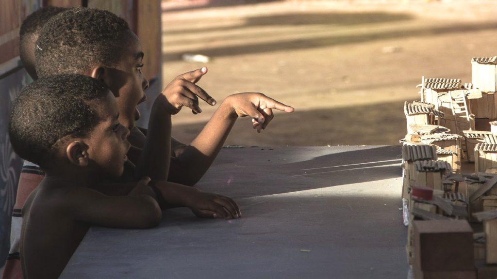 Kinder Favela Brasilien