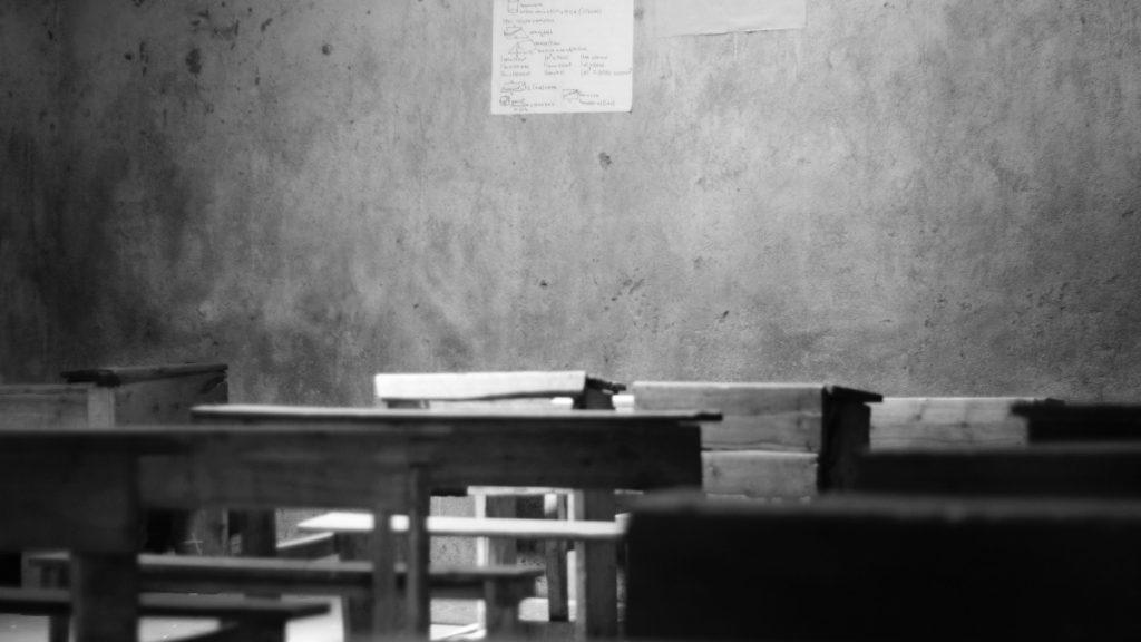 Klassenzimmer Afrika