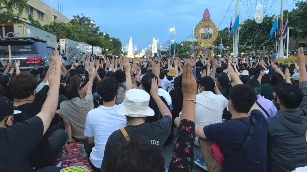 Thailand Proteste 2020 Demokratie