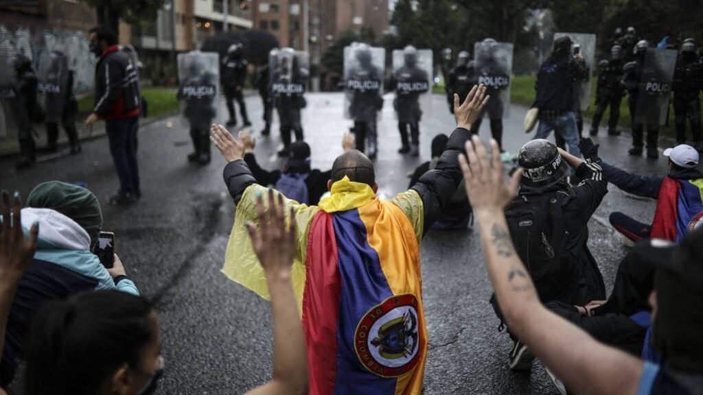 Demonstrationen Kolumbien Steuerreform