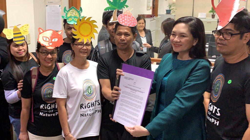 Gesetzesvorlage Rechte der Natur Philippinen