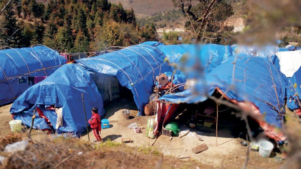Myanmar Camp Flucht Kachin