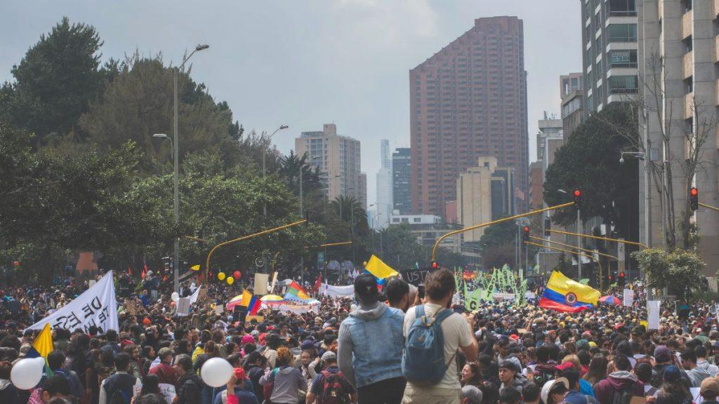 Kolumbien Demonstrationen 2021 mehr Demokratie