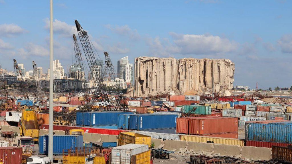1 Jahr Explosion Hafen Beirut