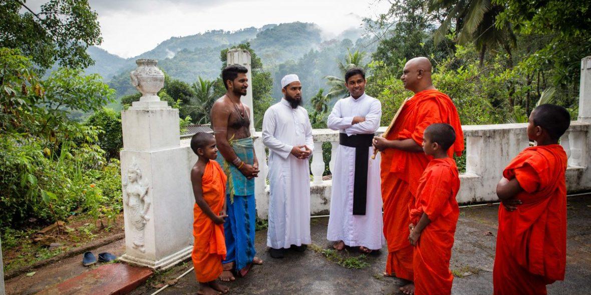 Sri Lanka interreligiöser Austausch