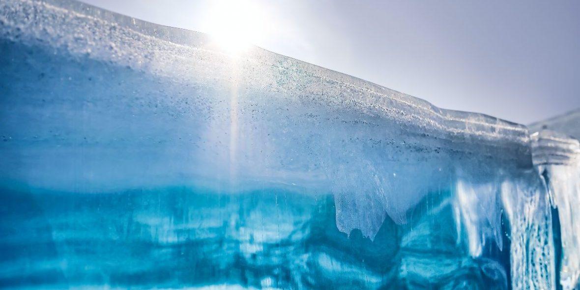 Gletscherschmelze Antarktis