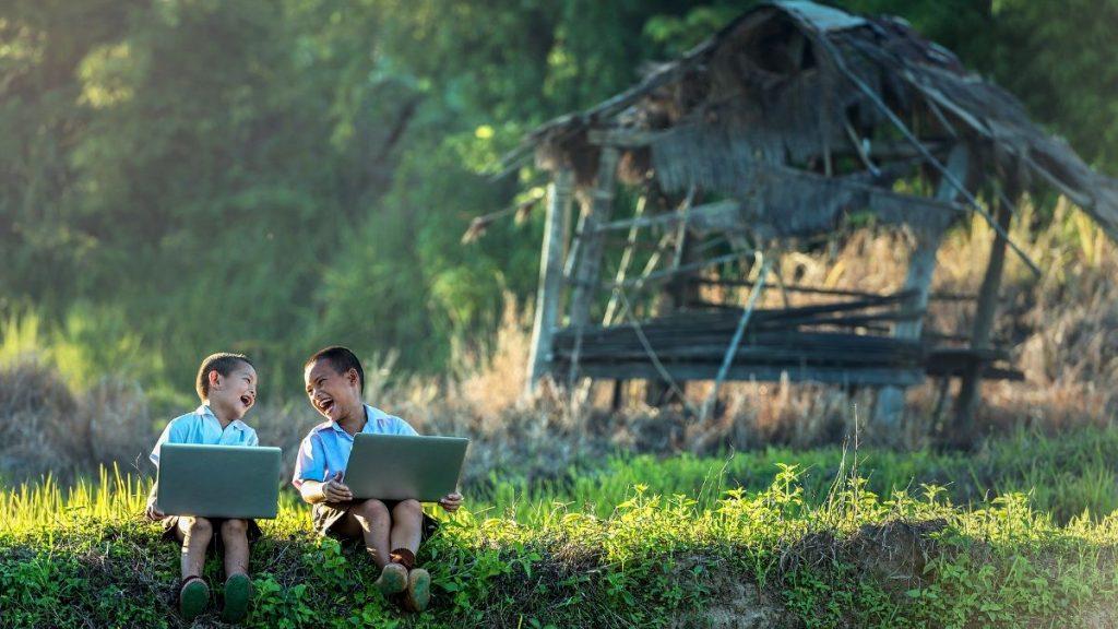digitales Lernen weltweit