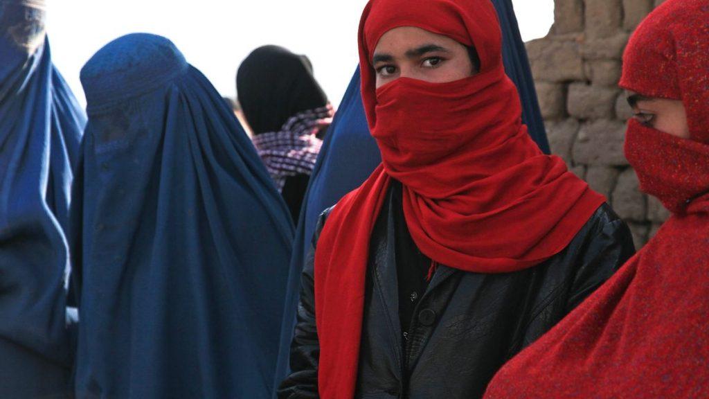 Afghanistan Frauen Burkha