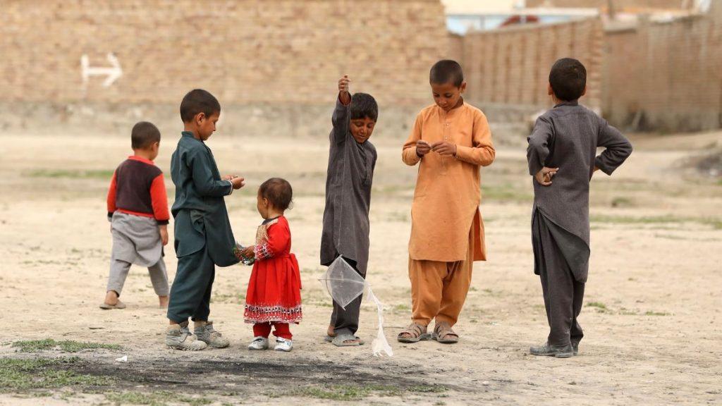 Kinder in Kabul Afghanistan 2020